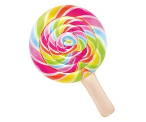 Надуваем дюшек INTEX Lollipop